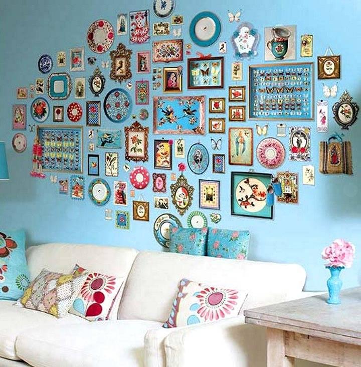 Как декорировать стены своими руками и подручными средствами: обоями, ламинатом, тканью, шпаклевкой и краской — Обзор идей