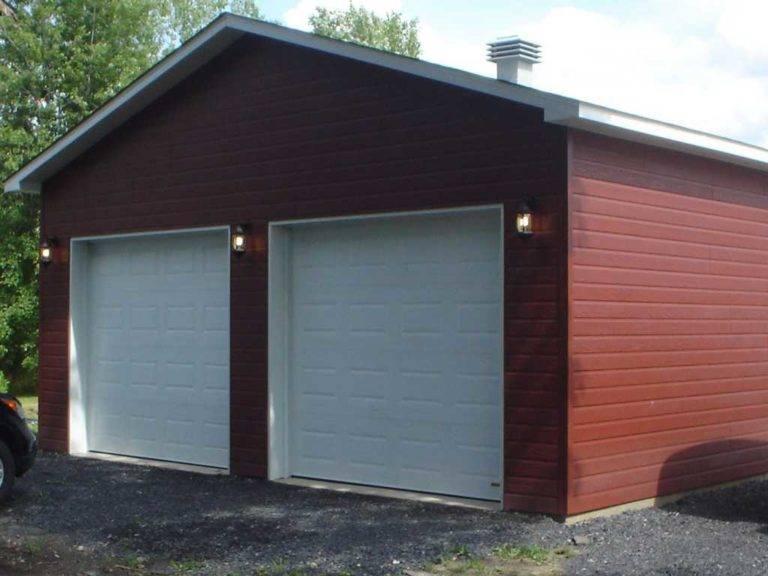 Пошаговая инструкция для постройки каркасного гаража своими руками, схемы проектов