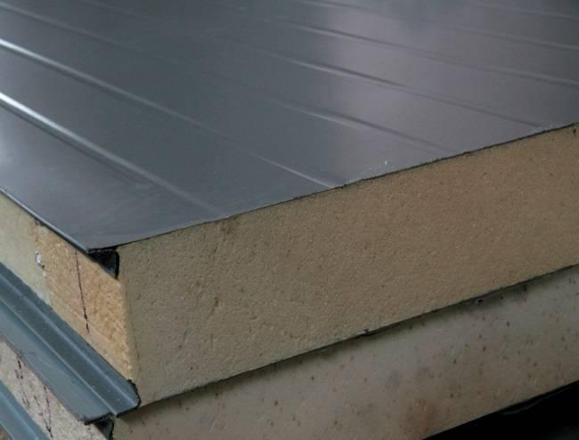 Крыша из сэндвич-панелей: плюсы и минусы | плюсы и минусы