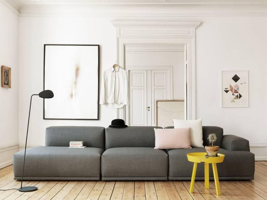 Модульные диваны – отличительные черты и особенности применения в дизайне интерьера