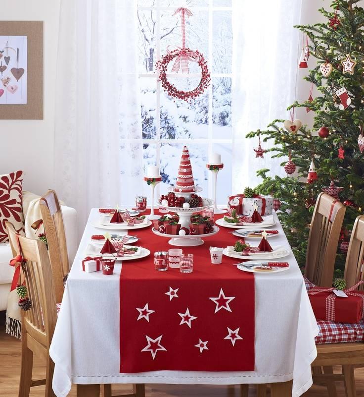 Как сервировать стол на новый год: идеи с фото