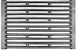 Чугунный колосник: его размер, и как определить качество данного изделия