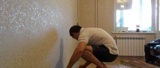 Натяжной потолок сначала обои или потолок: что клеить или делать, после поклейки, раньше или первым, вперед