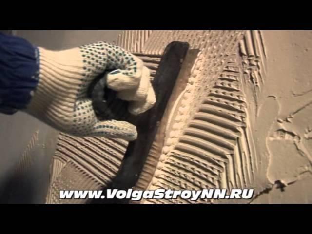 Штукатурка стен своими руками: поэтапная технология (видео новичку)