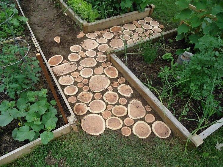 Как сделать садовую дорожку на даче своими руками: технологии и обзор материалов