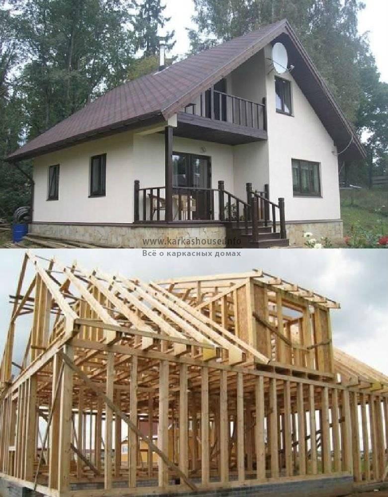 Монолитно-каркасные дома: плюсы и минусы