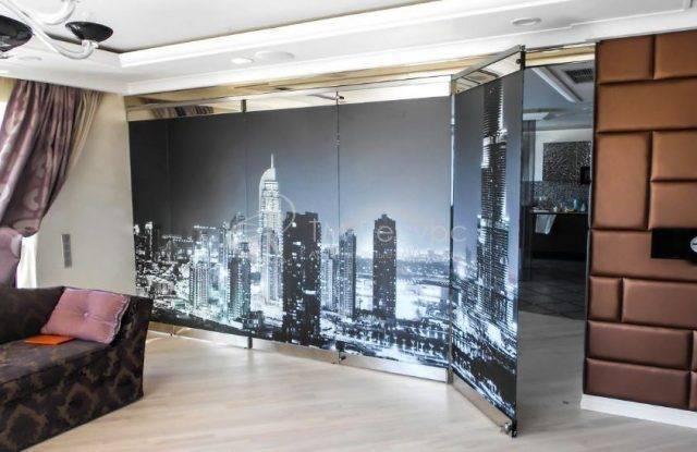 100 лучших идей: зонирование шторами   интерьер комнат на фото