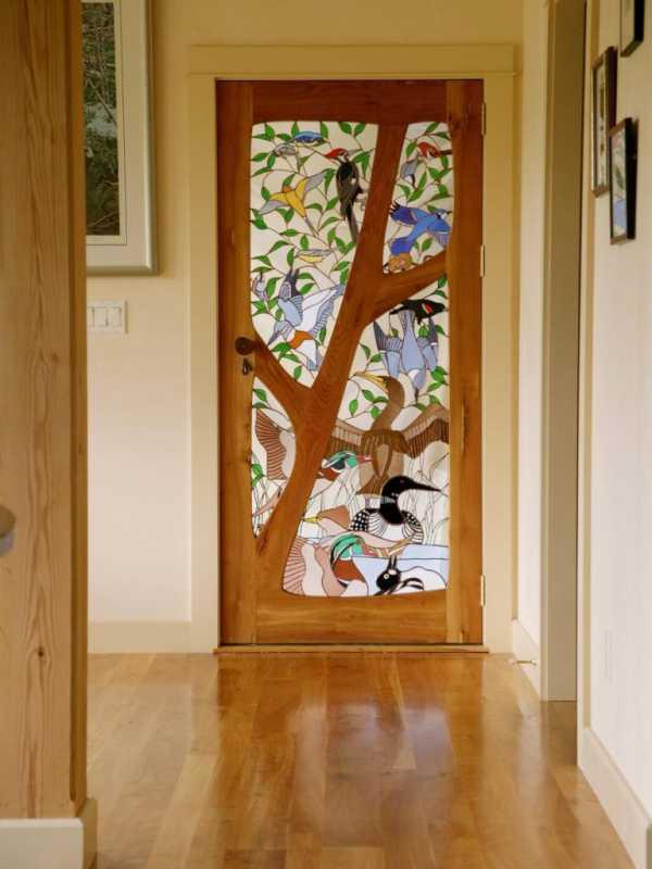 Замена стекла в межкомнатной двери своими руками - всё о межкомнатных и входных дверях