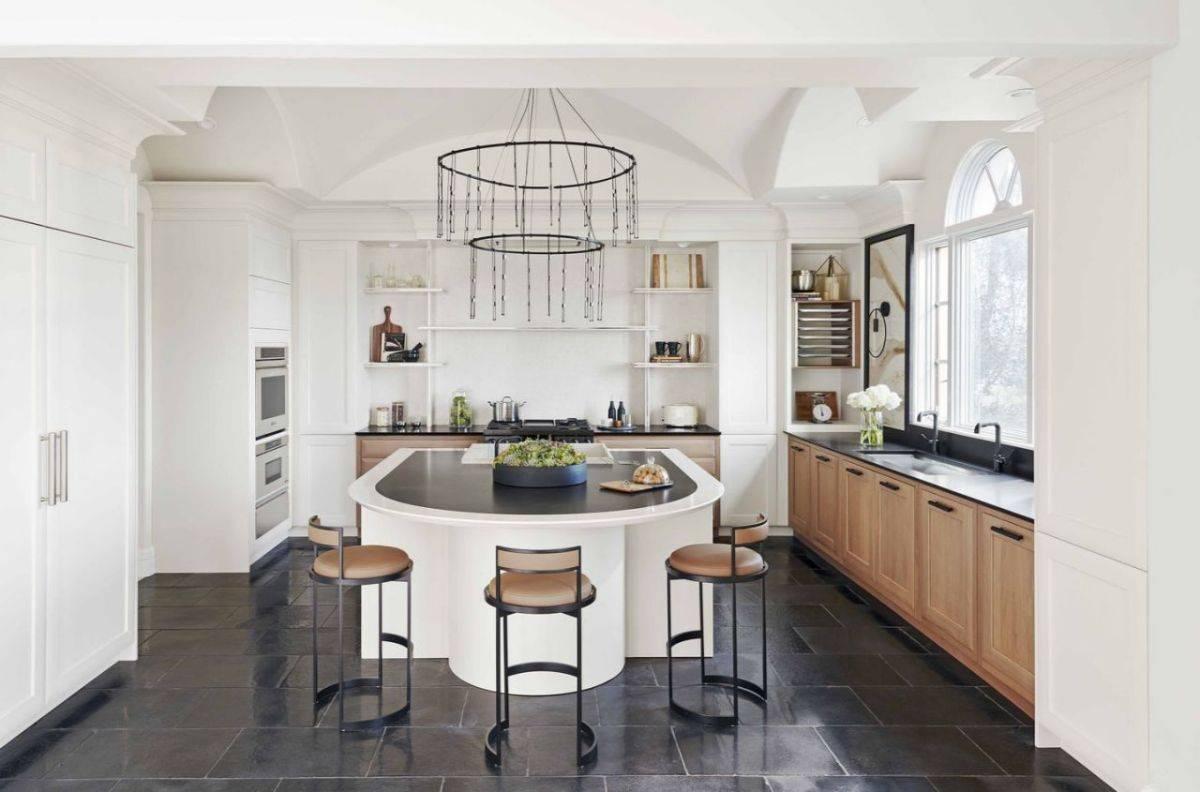 Кухня в стиле неоклассика (современная классика): 101 фото