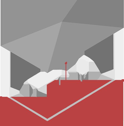 Расчет освещения по площади помещения и определение количества светильников