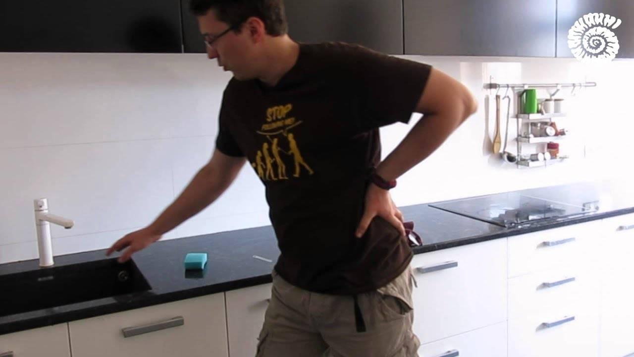 Как отмыть раковину из искусственного камня на кухне: от желтых пятен, от чая (отзывы)