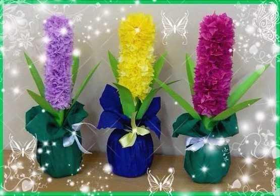 Изготовление искусственных цветов самостоятельно из подручных материалов