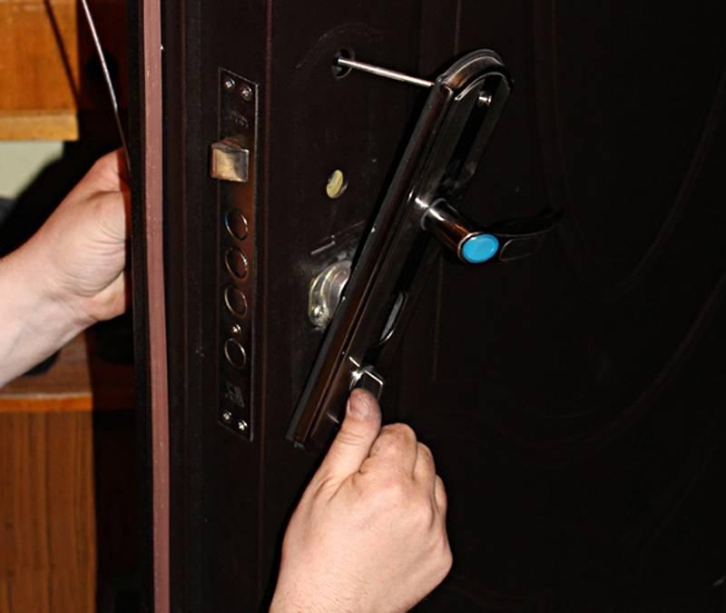Установка входной двери своими руками: фото + видео