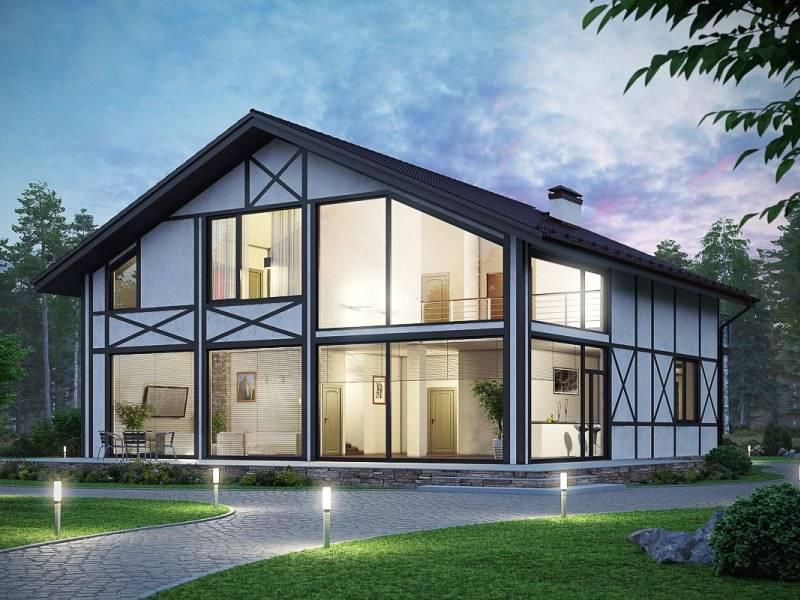Панорамные окна в частном доме, квартире и на балконе.