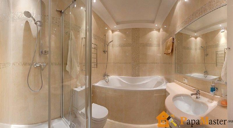 Потолок в туалете - какой из вариантов отделки подходит лучше всего?