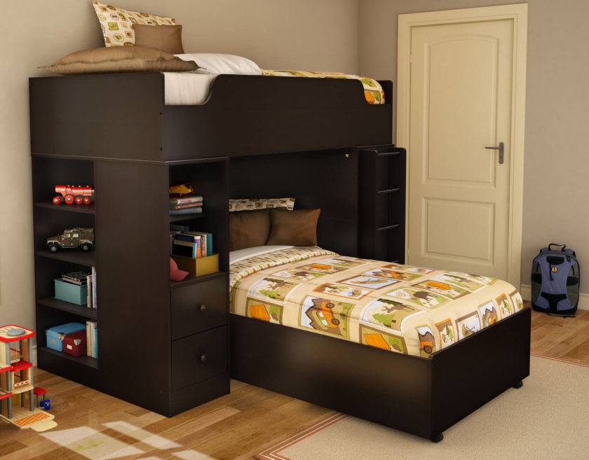 Двухъярусная кровать трансформер - 105 фото детских моделей от ведущих производителей