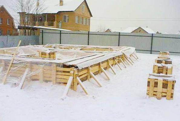Можно ли зимой заливать бетон?