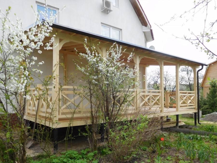 Веранда своими руками к загородному дому: от проекта и техусловий к реализации