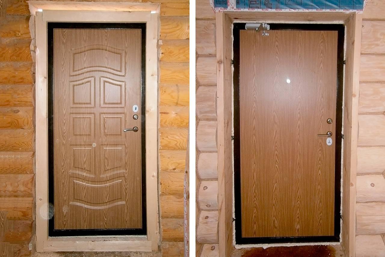 Как утеплить входную металлическую дверь? способы и особенности утепления железной двери в квартире и частном доме