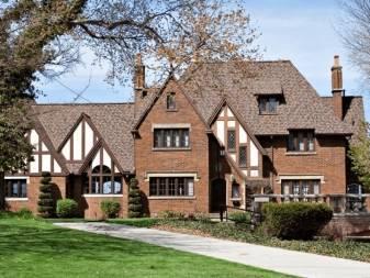 Дом в английском стиле: классические проекты