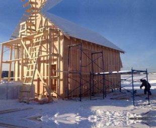 Холодно ли зимой в каркасном доме в Сибири