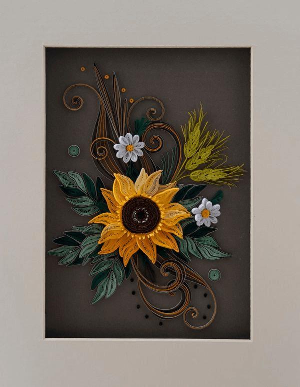 Подборка панно и картин в технике квиллинг