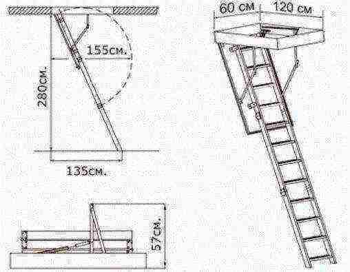 Какая лестница на чердак лучше и можно ли ее сделать самостоятельно