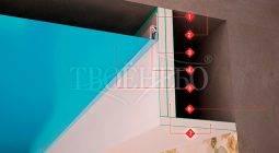 Как крепить натяжной потолок к гипсокартону 3 разными способами