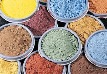 Цемент цветной, краситель (краска, пигмент) для цемента, раствора и бетона в домашних условиях