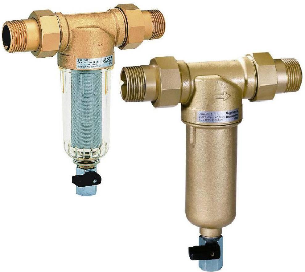 Фильтр грубой очистки воды перед счетчиком виды, установка и технология ухода