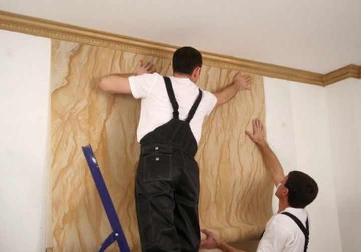 На каком этапе ремонта делают натяжные потолки?