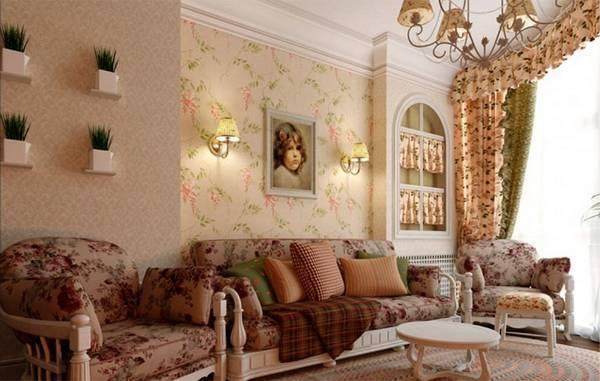 Оформление стен в гостиной – достижение абсолютного преображения пространства