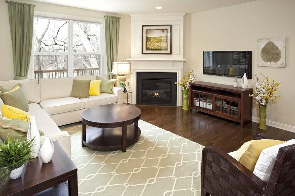 Гостиная с камином: 105 фото красивых дизайнов в интерьере гостиной