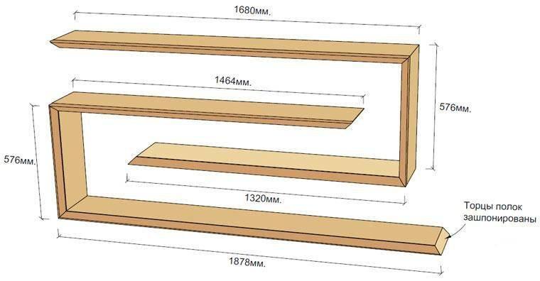 Как сделать стеллаж своими руками: схемы, варианты и особенности постройки (110 фото)