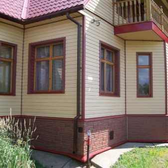 Фасадные панели альт профиль - лучшие фасады частных домов