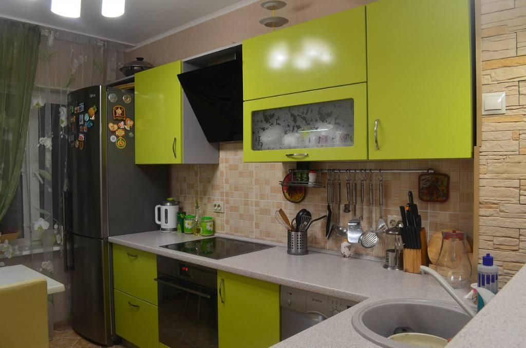 Кухни в цвете лайм: сочетание цветов, оформление, фото в интерьере
