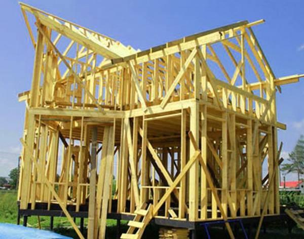 Подробная схема постройки каркасного дома своими руками