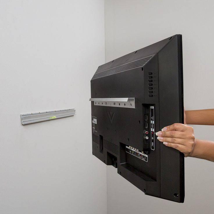 Крепление для телевизора на стену: пошаговая инструкция с фото