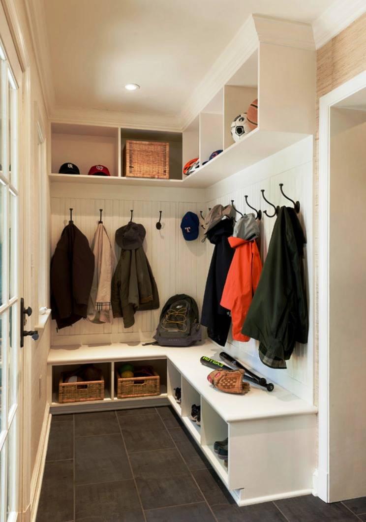 Дизайн гардеробной комнаты: 65 красивых идей (фото)