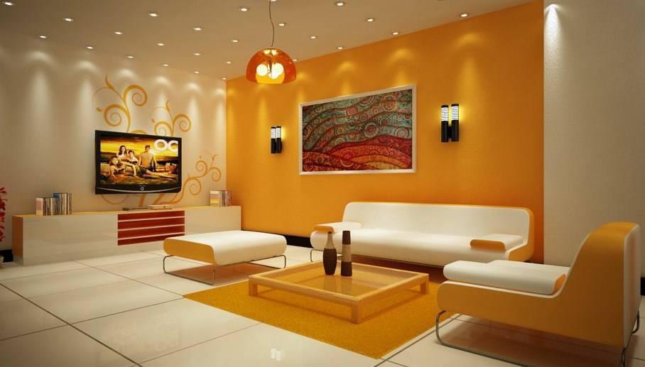 Различные виды покраски стен
