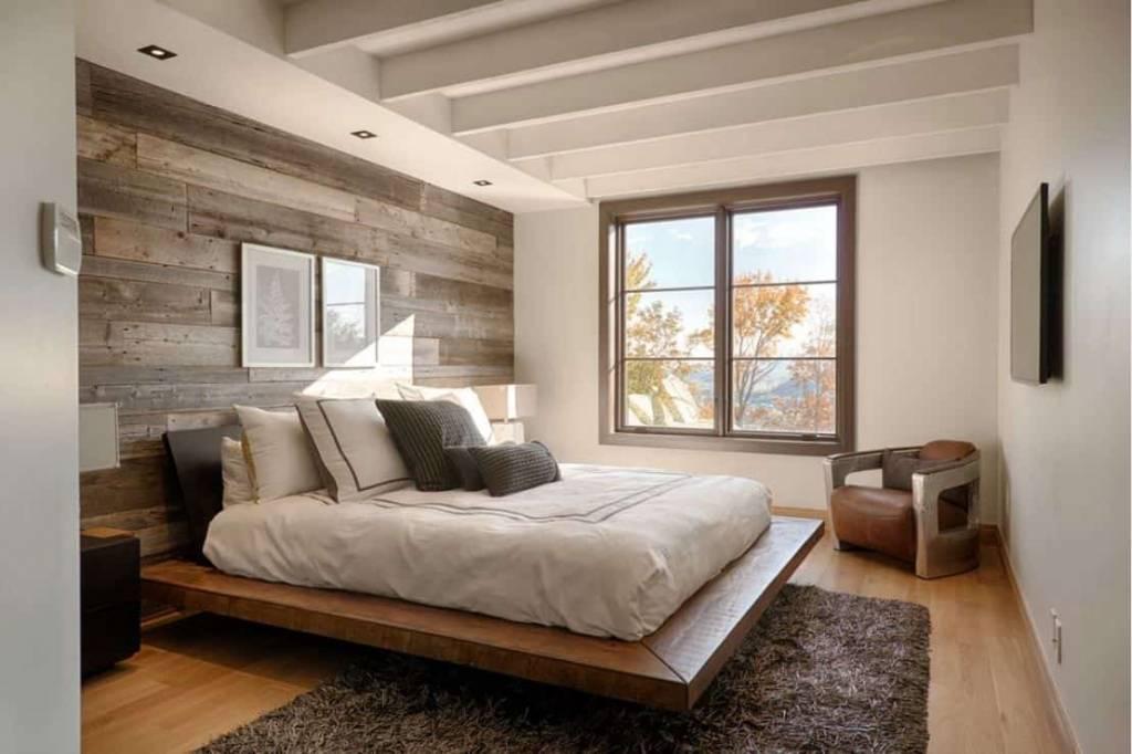 Иинтерьер и дизайн спальни 3х4 - фото