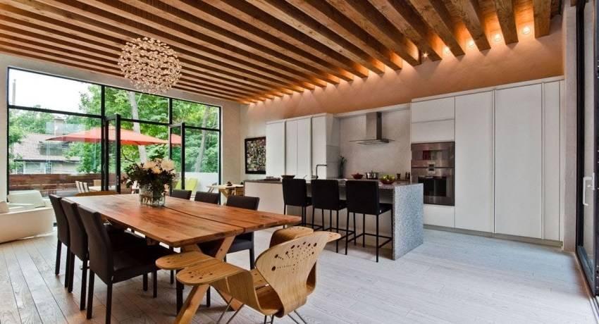 Отделка потолка в деревянном доме — чем отделать внутри в частном доме, материалы, чем закрыть, обшивка деревянного потолка, чем закрыть потолок из дерева