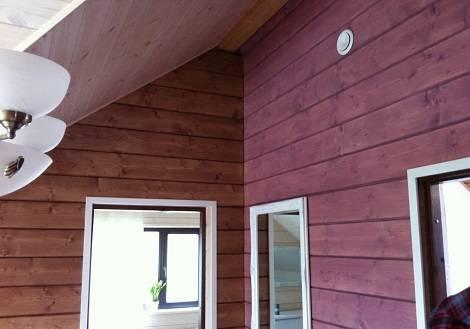 Отделка внутри деревянного дома: фото готовых проектов и рекомендации для мастеров