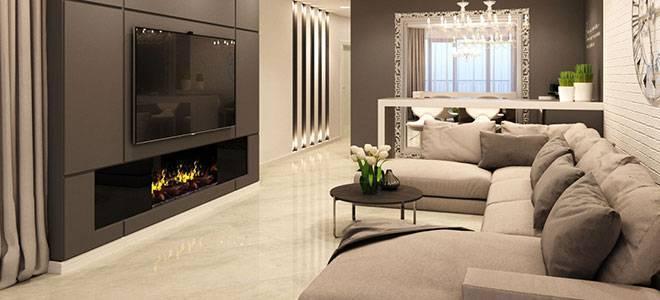 Дизайн маленькой гостиной с камином (50 фото примеров)