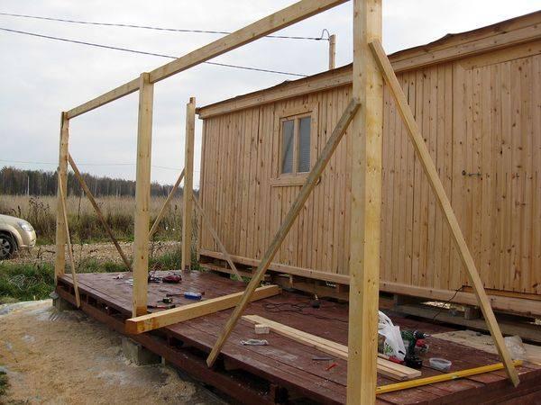 Как правильно пристроить террасу к дому своими руками?