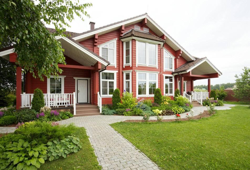 Интерьер загородного дома в классическом стиле: 100 фото идей