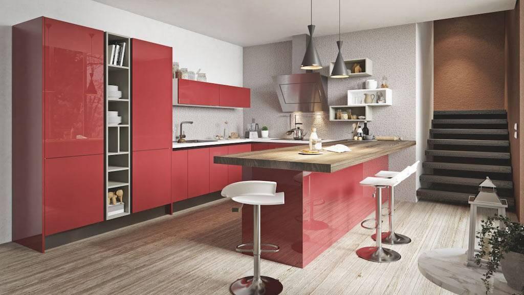 Пластиковые фасады для кухни: виды покрытия, особенности ухода