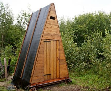 Туалет на даче своими руками — инструкция, чертеж с размерами