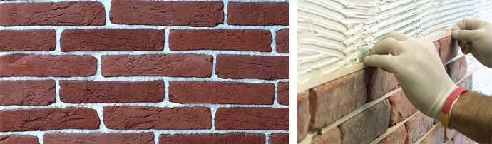 Декоративный камень: как клеить правильно и на что, пошаговая инструкция