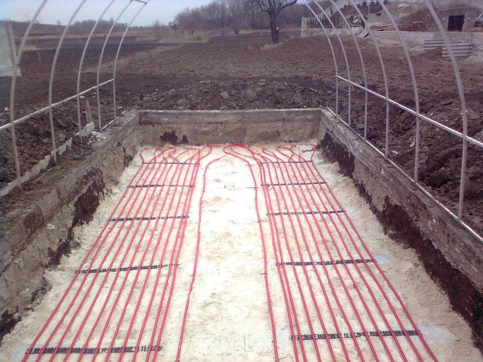 Отопление теплицы: способы обогреть теплицу зимой и ранней весной